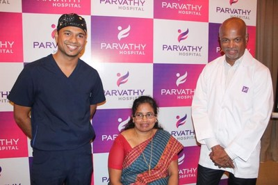 Parvathy Hospital Performs Asia's First Day Surgery for Joint Replacement on a Senior Citizen