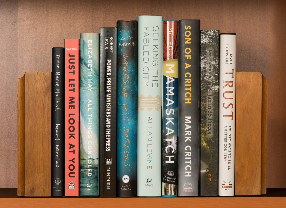 RBC Taylor Prize 2019 Longlist (CNW Group/Charles Taylor Prize)