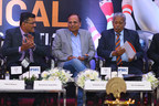 Left to Right: Mr. Yogesh Mudras, Managing Director, UBM India; Shri Satyendra Jain, Cabinet Minister, Government of NCT, Delhi and Shri D.R. Karthikeyan (PRNewsfoto/UBM India Pvt. Ltd.)