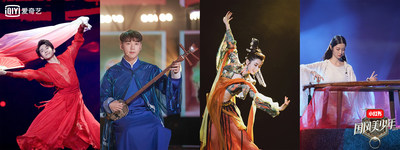 "THE CHINESE YOUTH Hanikezi Sang ""A Dream to Dunhuang"" and Drove China to Euphoria"