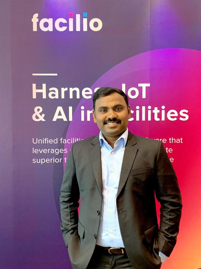 Prabhu Ramachandran, Founder & CEO, Facilio Inc.