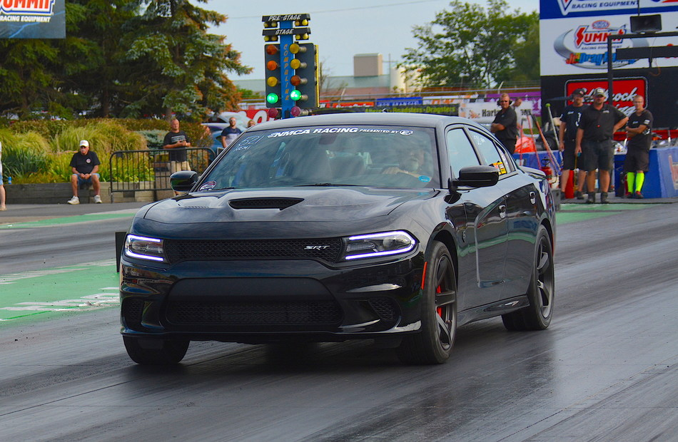 Dodge//SRT and Mopar have announced a renewed commitment to National Muscle Car Association (NMCA) competitors for the 2019 season. For the second consecutive year, the brands will offer racers in model-year 2005 and newer FCA US LLC vehicles complimentary entry in the NMCA Dodge/Mopar HEMI® Shootout category, providing performance enthusiasts a sanctioned and secure drag strip environment to race their muscle cars.