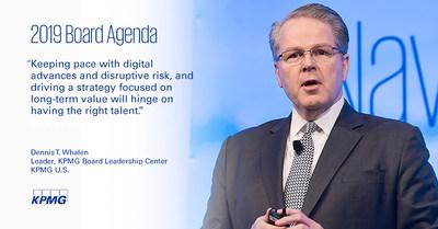 Dennis T. Whalen, leader of the KPMG Board Leadership Center