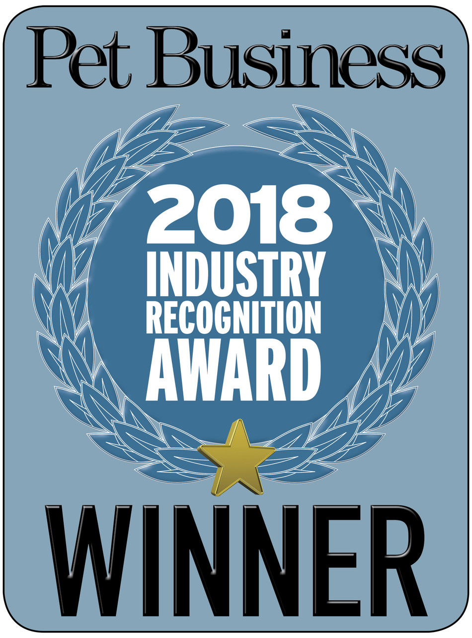 Pet Business 2018 Industry Recognition Award