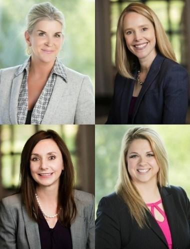 Left to right: Kari Warren, Tammy Freiling, Tracey Dodson and Julie Tatom