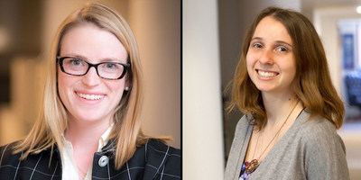 Grace Fenstermaker, Senior Account Supervisor, and Shannon Quinn, Senior Account Executive of Qorvis Communications