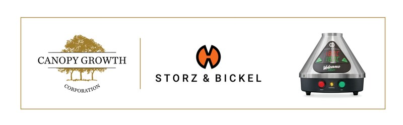 Canopy Growth fait l'acquisition de Storz & Bickel (Groupe CNW/Canopy Growth Corporation)