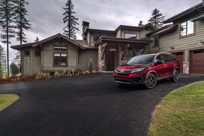 Honda Pilot Announced as Featured Vehicle for the Driveway of the Highly Coveted HGTV Dream Home 2019