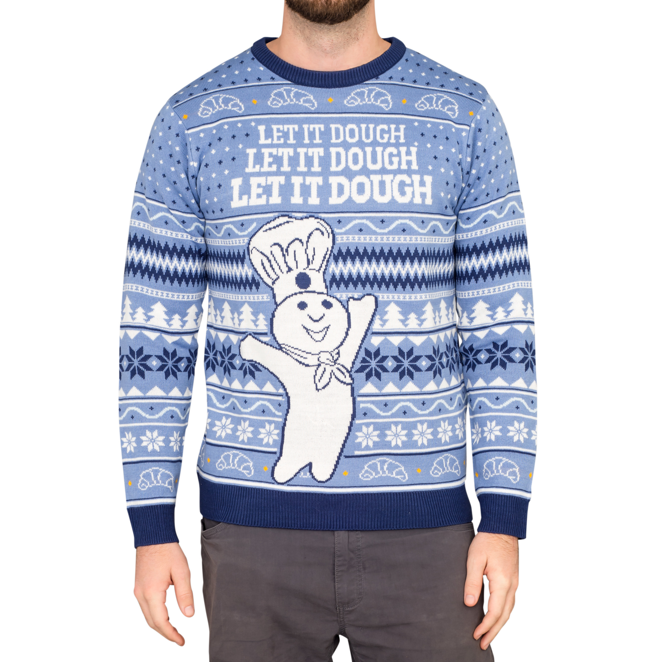 Pillsbury Debuts First Ever Line Of Doughboy Ugly Christmas Sweaters