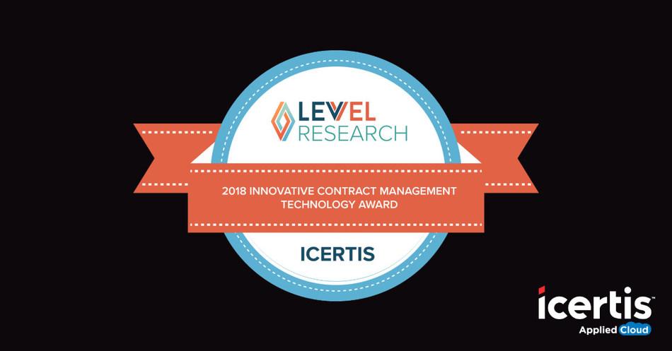 Icertis wins Levvel Research Innovation Award