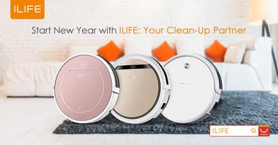 Empieza el Año Nuevo con un compañero de limpieza de ILIFE