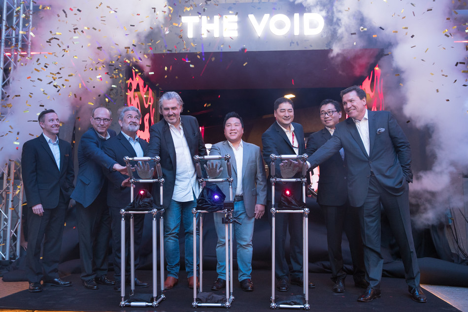 The VOID's first hyper reality experience center in Asia unveiled