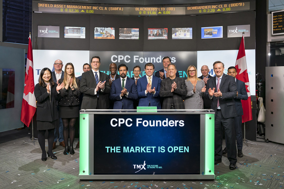 CPC Founders Open the Market in Toronto (CNW Group/TMX Group Limited)