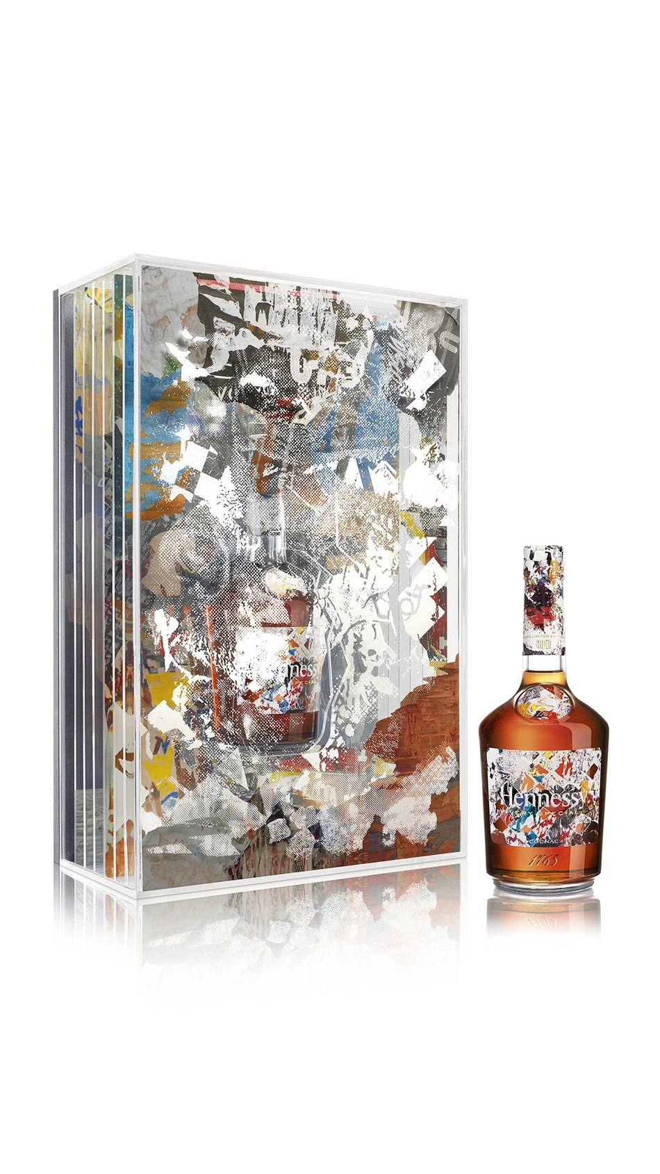 Hennessy Very Special Collector's Edition by Vhils – a limited-edition release of 100 unique individually-signed pieces designed using the art-world phenomenon's famed 'Making the Invisible Visible' technique. The new artwork is available on December 6 exclusively on Clos19.