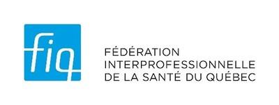 Logo : Fédération interprofessionnelle de la santé du Québec–FIQ (Groupe CNW/Fédération interprofessionnelle de la santé du Québec - FIQ)