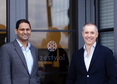 Zesty.ai Co-Founders, Kumar Dhuvur, Head of Product and Attila Toth, CEO