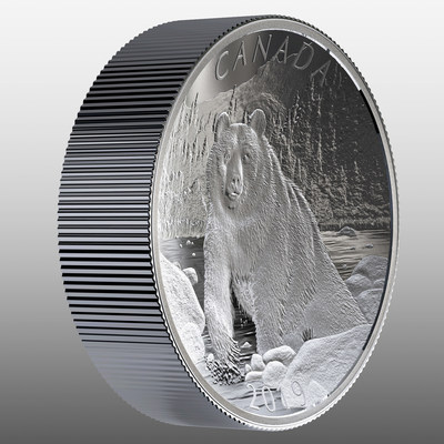 The Royal Canadian Mint's Fine Silver Double Concave Coin