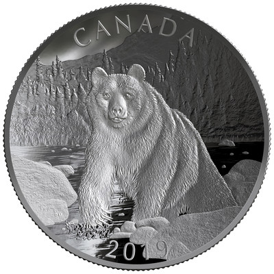 The Royal Canadian Mint's Fine Silver Double Concave Coin -
