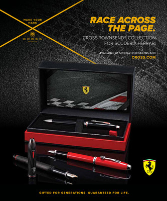 CROSS Enters the Fast Lane with New Cross Collection for Scuderia Ferrari