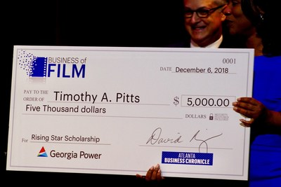 Georgia Power and the Atlanta Business Chronicle present new scholarship for outstanding film student