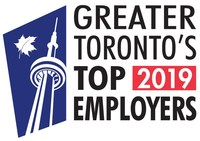 Greater Toronto's Top Employers (2019) (CNW Group/Mediacorp Canada Inc.)