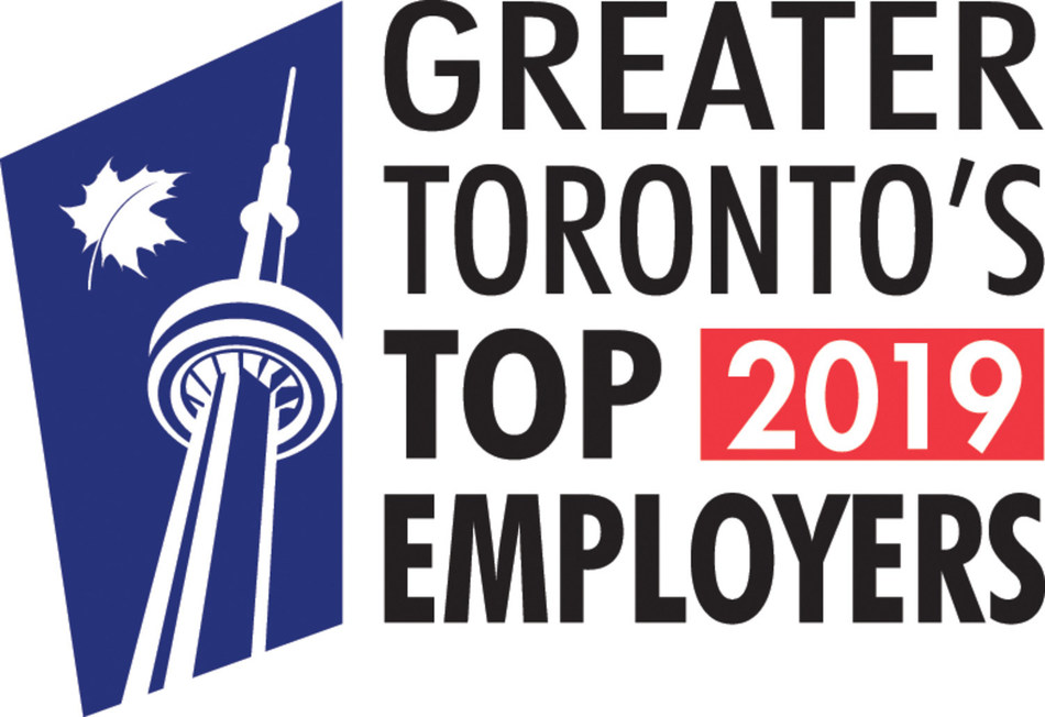 Greater Toronto's Top 2019 Employers (CNW Group/VISA Canada Corporation)