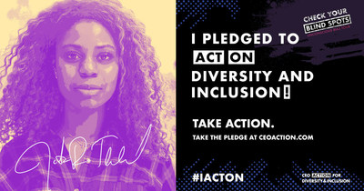 "Today CEO Action for Diversity & Inclusion™, the largest CEO-driven business coalition to advance diversity and inclusion within the workplace, takes another bold action by convening more than 150 organizations for the largest ""Day of Understanding"" to address bias in the workplace."