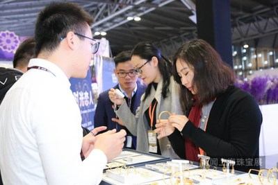 Business Discussion at China International Gold, Jewellery & Gem Fair - Shanghai