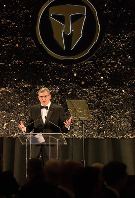 At the 7th annual Travis Manion Foundation (TMF) Gala in Philadelphia, Wounded Warrior Project (WWP) was honored with the 2018 Community Leadership Award. WWP CEO Lt. Gen. (Ret.) Mike Linnington was in attendance to receive the award on behalf of WWP.
