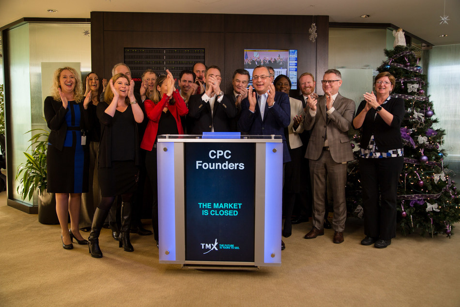 CPC Founders Close the Market in Vancouver (CNW Group/TMX Group Limited)