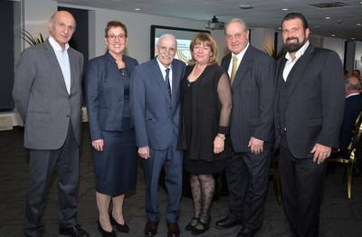 Hubert Sacy, Catherine Dagenais, Gabriel Loubier, Patricia Lévêque, Pierre Lévêque, Richard Scofield (Groupe CNW/Institut de tourisme et d'hôtellerie du Québec)