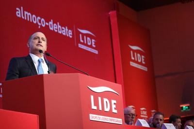 Onyx Lorenzoni, futuro ministro da Casa Civil do governo Bolsonaro, em Almoço-Debate LIDE (Crédito/foto: Fredy Uehara/Uehara Fotografia)