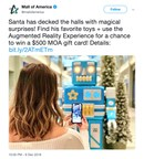 Mall of America Selects XenoHolographic for Holiday Augmented Reality Customer Experience (CNW Group/Imagination Park Entertainment Inc.)