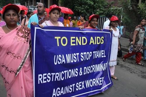 Sex Worker Freedom Festival - Kolkata, India - 2012. Photo Credit: Sex Worker Open University