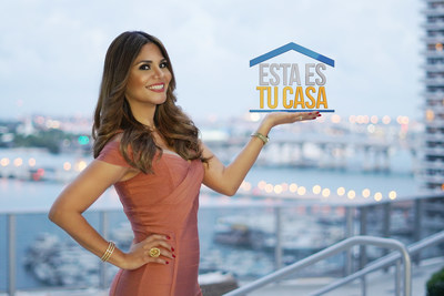 """La reconocida periodista Natalia Cruz estrena """"Esta es tu Casa"""" por MegaTV"""