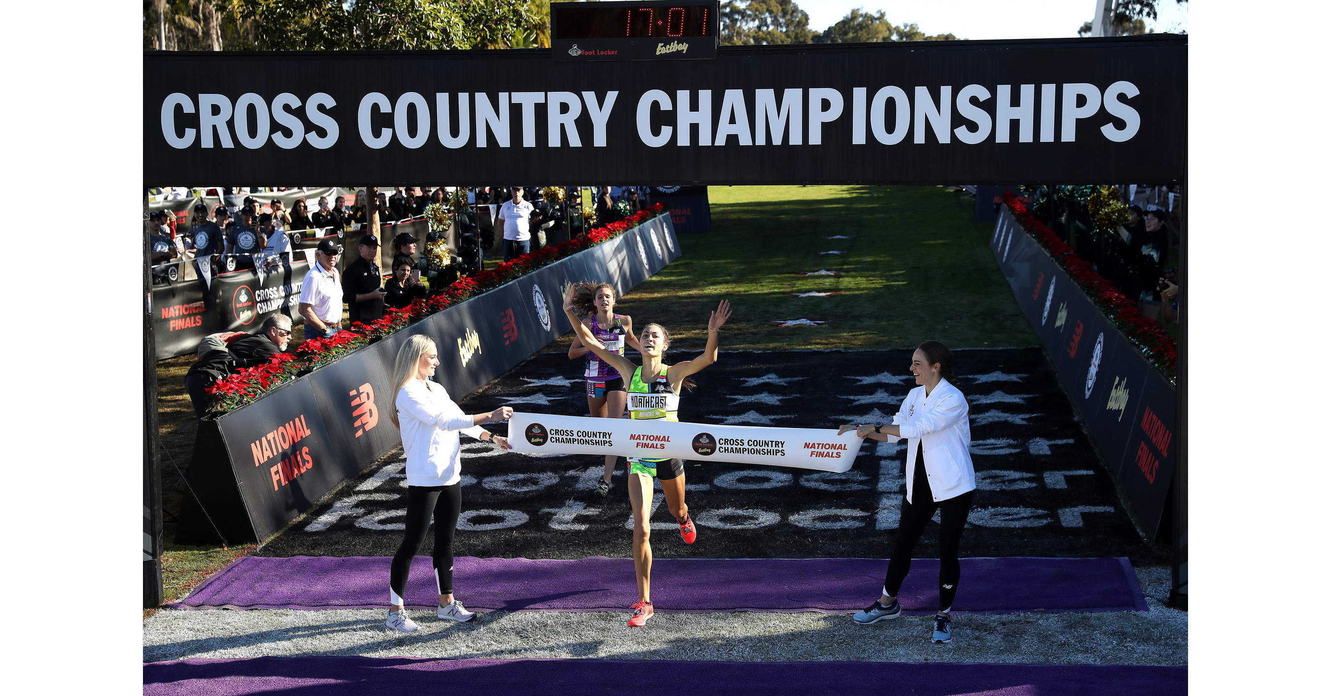 0c83d6181 Sydney Masciarelli and Cole Hocker Capture First Place Titles at the 40th  Annual Foot Locker Cross Country Championships National Finals Presented by  ...