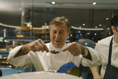 Michelin-starred Chef Daniel Boulud of Café Boulud and d|bar at Four Seasons Hotel Toronto.