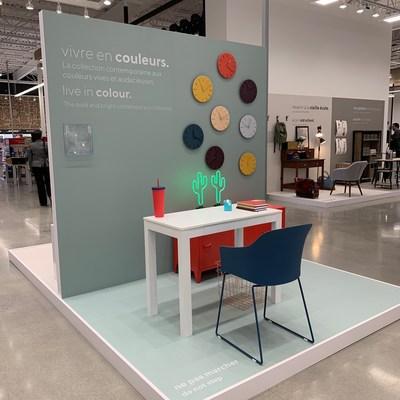 Vignette d'espace de travail au nouveau magasin concept Bureau en Gros à Kirkland, au Québec (Groupe CNW/Staples Canada/Bureau en Gros)