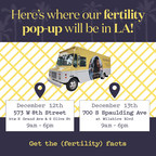 Women's Health Company, Kindbody, Enters Los Angeles Market with Mobile Fertility Pop-Up