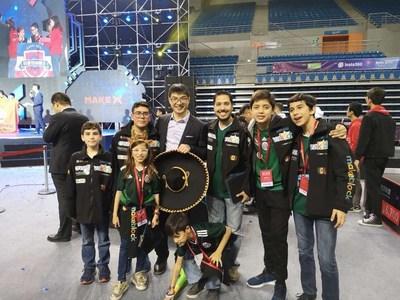 Les participants MakeX du Mexique