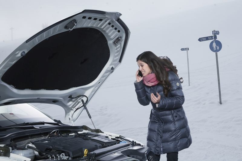 Winter weather pushes older batteries to their limit, leaving drivers vulnerable to being stranded. (PRNewsfoto/Johnson Controls Power Solutions)