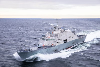 LCS 15 (Billings) completed Acceptance Trials in Lake Michigan.