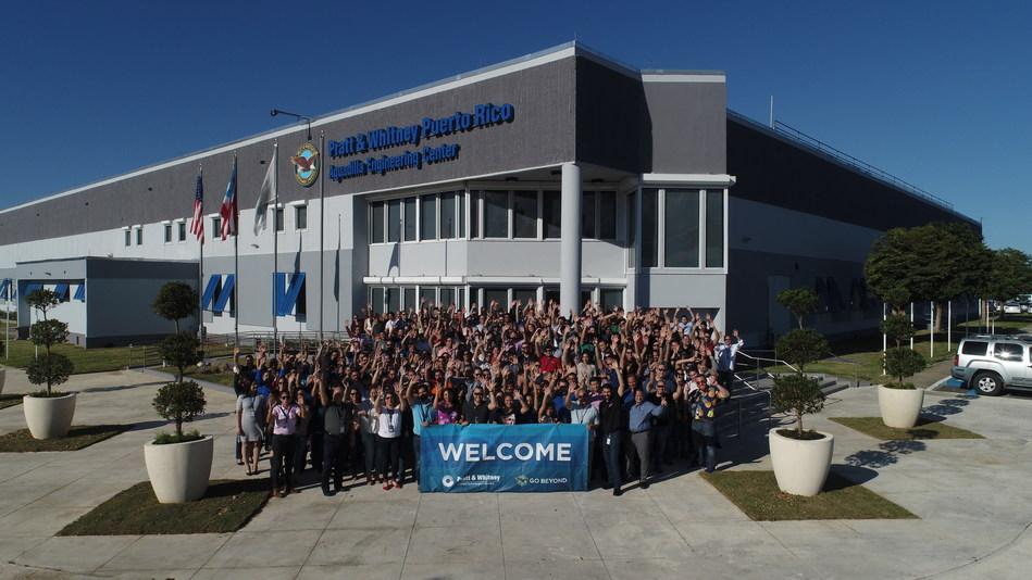Pratt & Whitney celebrated the official inauguration of the Pratt & Whitney Puerto Rico Aguadilla Engineering Center on December 10, 2018.