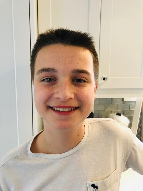 Aiden, 15, will have his wish to be Canada's prime minister granted in Ottawa this week. (CNW Group/Make-A-Wish Canada)