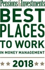 Belle Haven Investments Wins 9th Place For The 20-49 Employees Category In Pensions & Investments Best Places To Work In Money Management Award