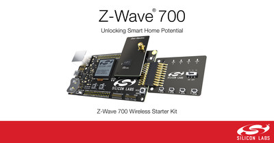 Silicon Labs launches Z-Wave 700 on the Wireless Gecko platform, unlocking the potential of the smart home.