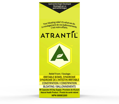 Atrantil is now available to all of Canada. Health Canada has authorized Atrantil for the treatment of IBS. Developed by a gastroenterologist, Atrantil is an all natural polyphenol blend which has been clinically tested and proven to deliver relief to IBS sufferers.