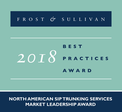 Verizon's Innovation-driven Growth in the VoIP Access and SIP Trunking Services Market Acknowledged by Frost & Sullivan