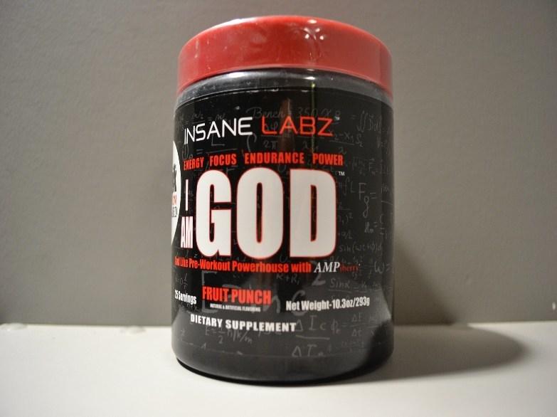 Insane Labz I AM GOD (CNW Group/Health Canada)