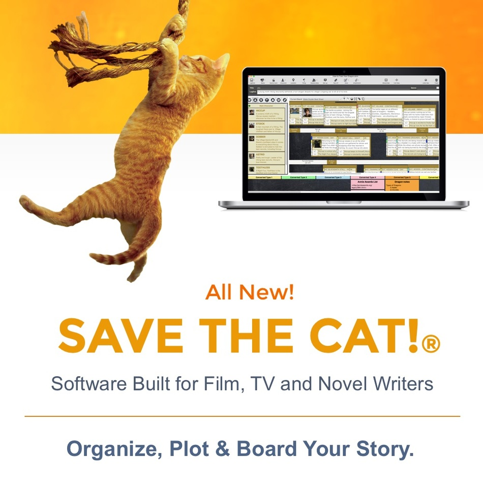 Save the Cat! All New Story Structure Software (PRNewsfoto/Save the Cat!)